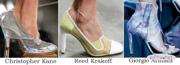 Netting shoes