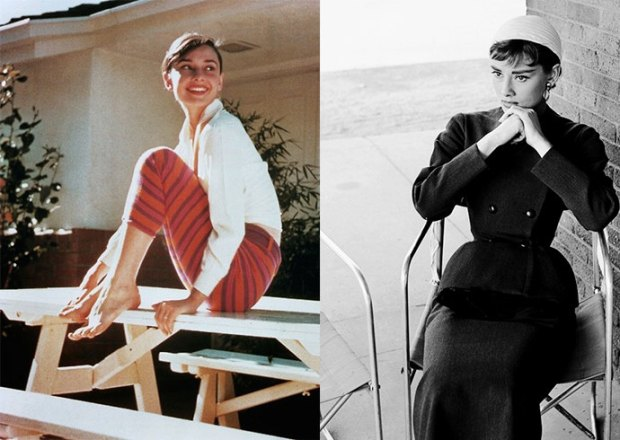 How Audrey Hepburn wear black color