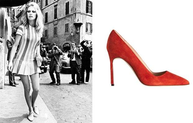 Brigitte Bardot celebrities Shoes