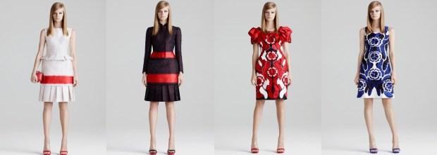 Alexander McQueen Short dresses