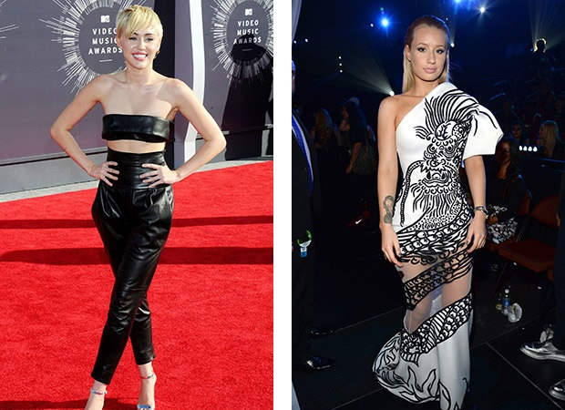 Miley Cyrus; Iggy Azalea