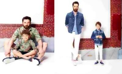Clothes children parents