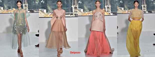 Delpozo dresses 2016
