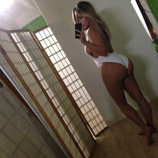 Kim Kardashian back