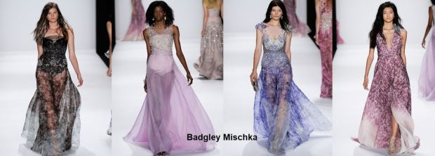 Badgley Mischka dresses