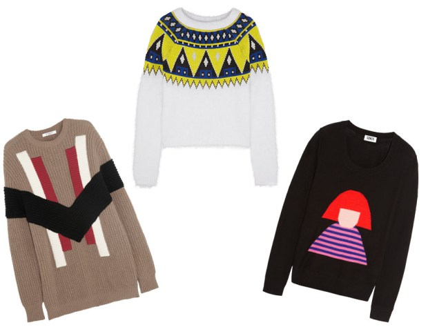 actual sweaters