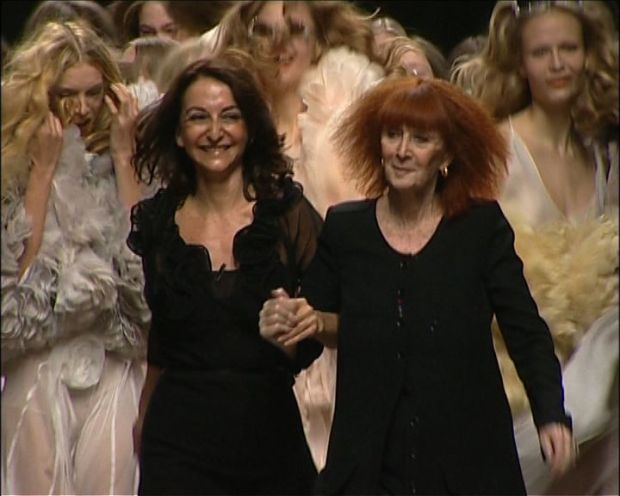 Sonia Rykiel with models