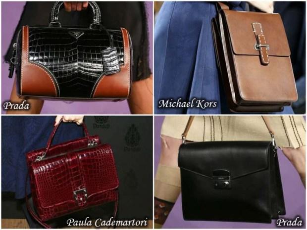 Briefcase handbags Spring 2016