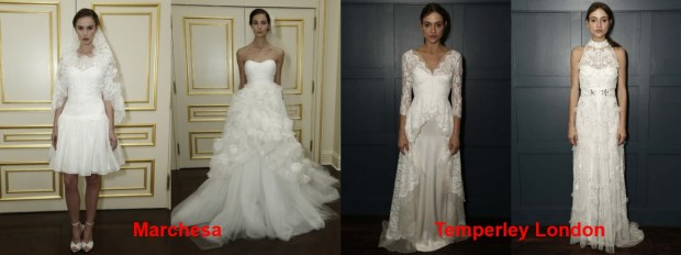 Wedding dresses Spring 2016