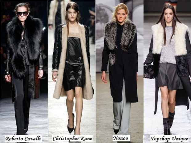 Fur capes and coats Winter 2016