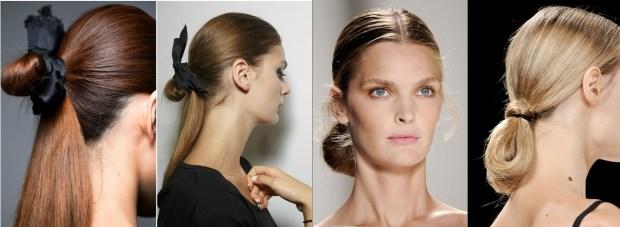 Feshionable ponytail