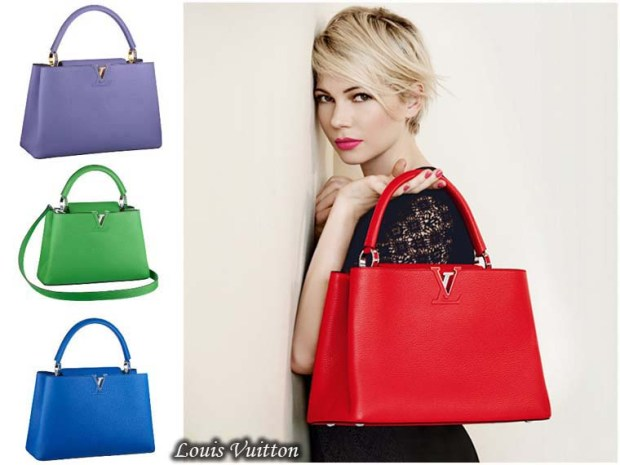 Bright colors of bags Spring 2016