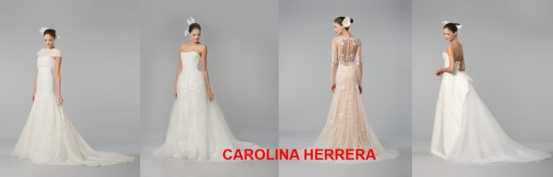 CAROLINA HERRERA Wedding dress Spring 2016