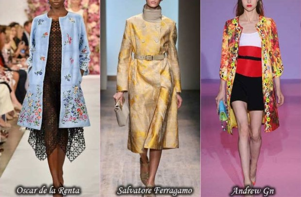 Trench coats with trendy prints 2016 Spring
