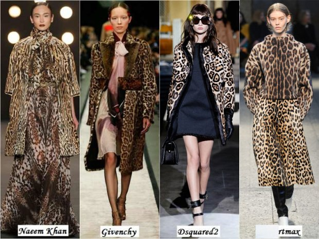 Animal print fur What to wear in Winter 2016