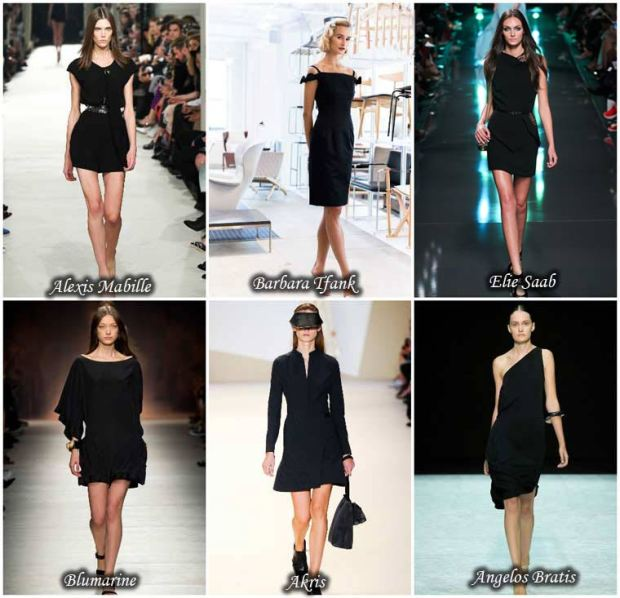 Little black dress Spring 2016