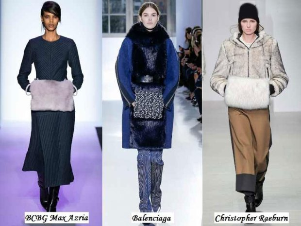 Muffs in Winter 2016 collections