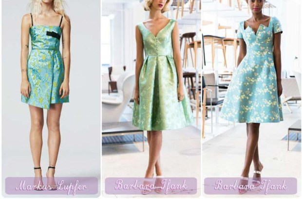 Emerald cocktail dresses New Year 2016