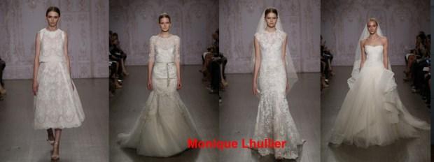 Model of wedding dress Spring 2016
