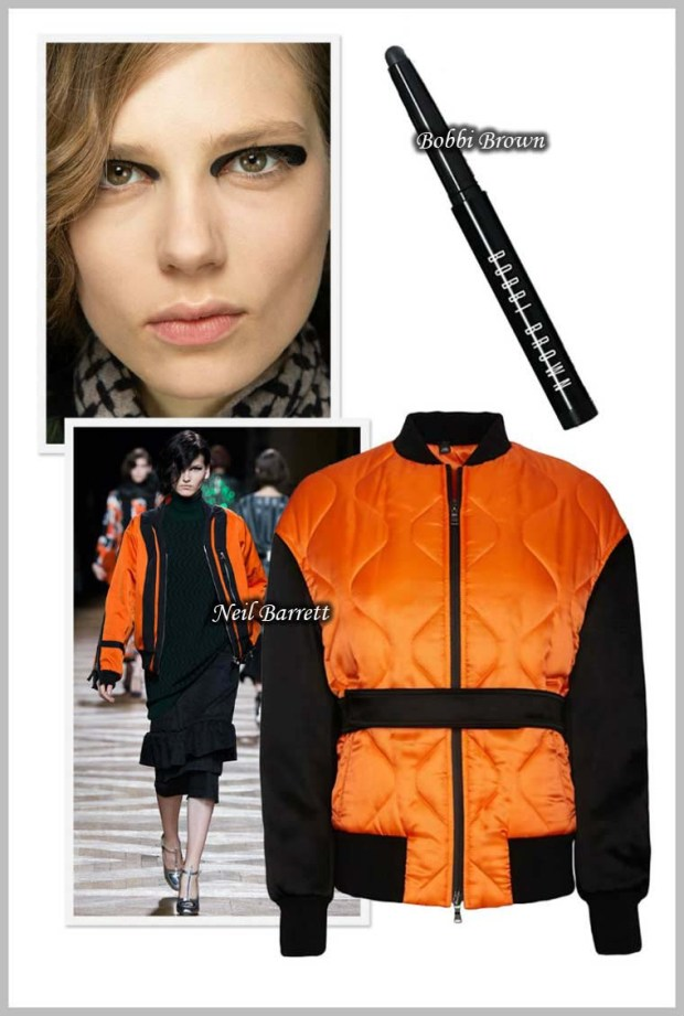 This Spring 2016 brilliant orange