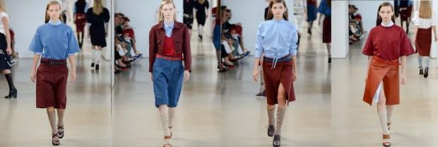 Trouser skirts Spring 2016