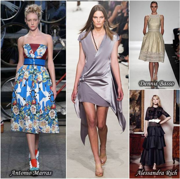 Cocktail dresses Spring 2016