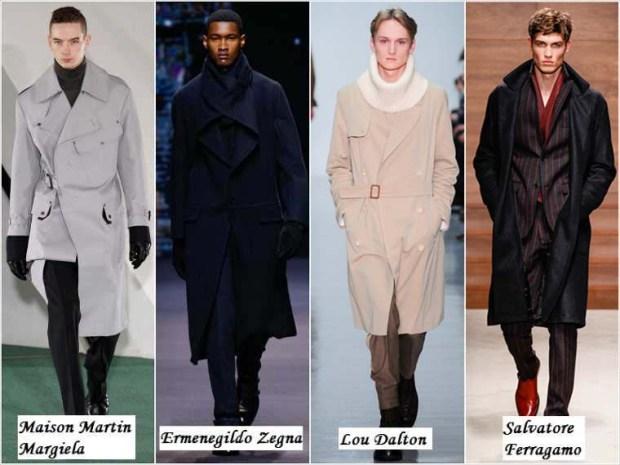 Romantic style clothes for men Winter 2016