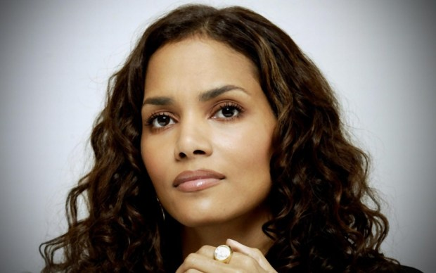 Halle Berry long curly hairstyle