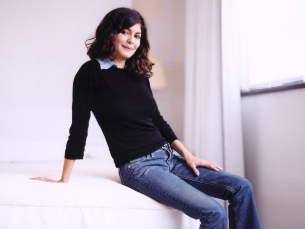 Celebrity Audrey Tautou long hair