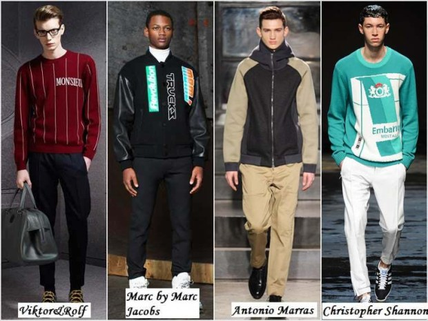 Sport style clothes for men Winter 2016