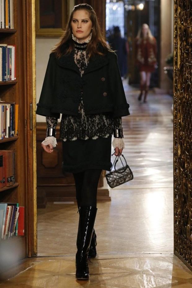 2 Chanel Pre Fall 2016 fashion show in Salzburg