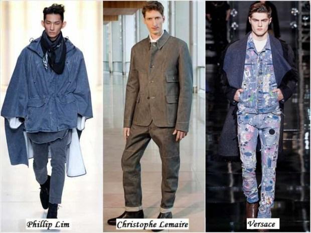 Denim clothes men Winter 2016