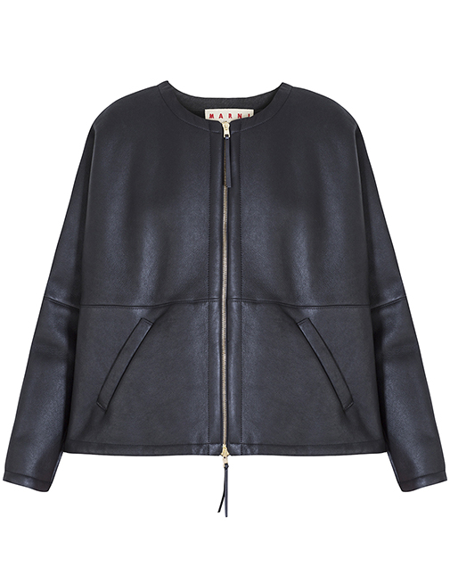 New Marni sheepskin coat