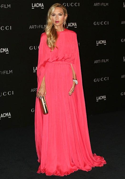 Rachel Zoe long pink dress