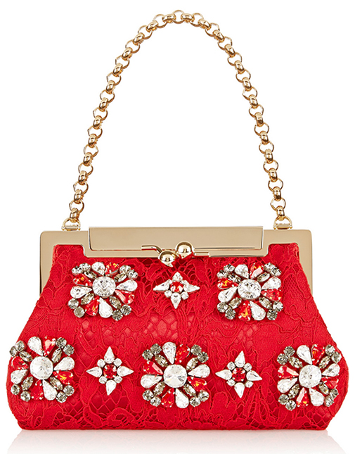 Dolce & Gabbana clutch on chain