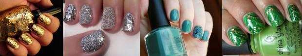 Metallic shine nail polish
