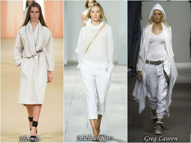 White clothes spring 2016