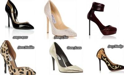 Fashionable footwear for women Spring 2015