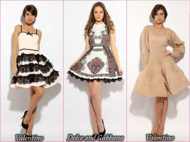 Short prom dresses with puffy skirts
