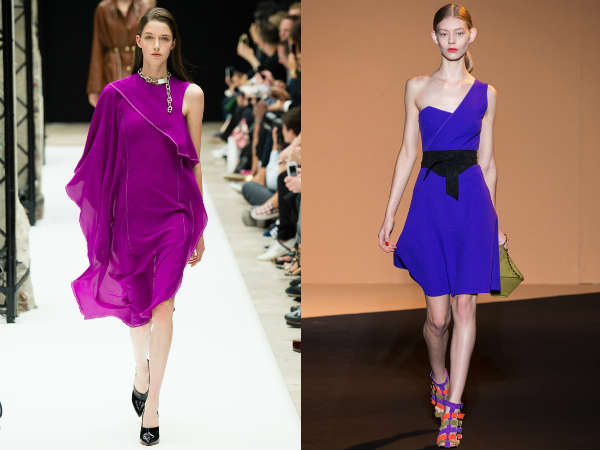Dresses with one shoulder