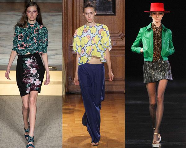 Womans floral print blouse