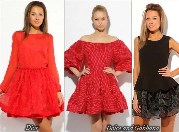 Short prom dresses 2016 with puffy skirts