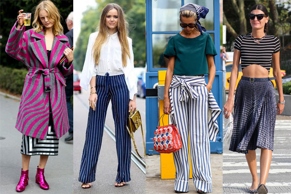 Spring-Summer 2016 Street style Stripes