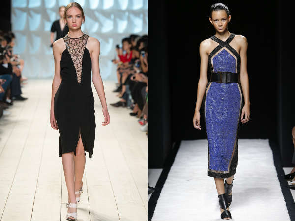 Dresses with cutouts