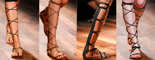 Valentino gladiator sandals for women