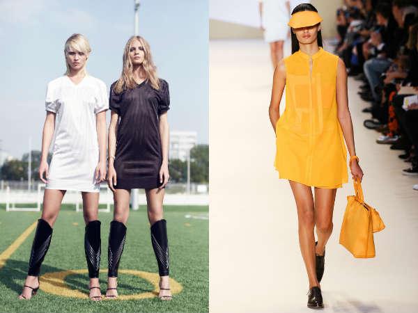 Women's sport tunics