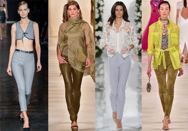 Trendy women office pants