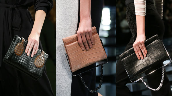 Women's evening reptile clutches