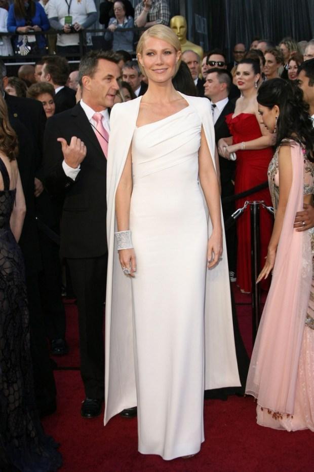 Gwyneth Paltrow in a dress by Tom Ford, 2012
