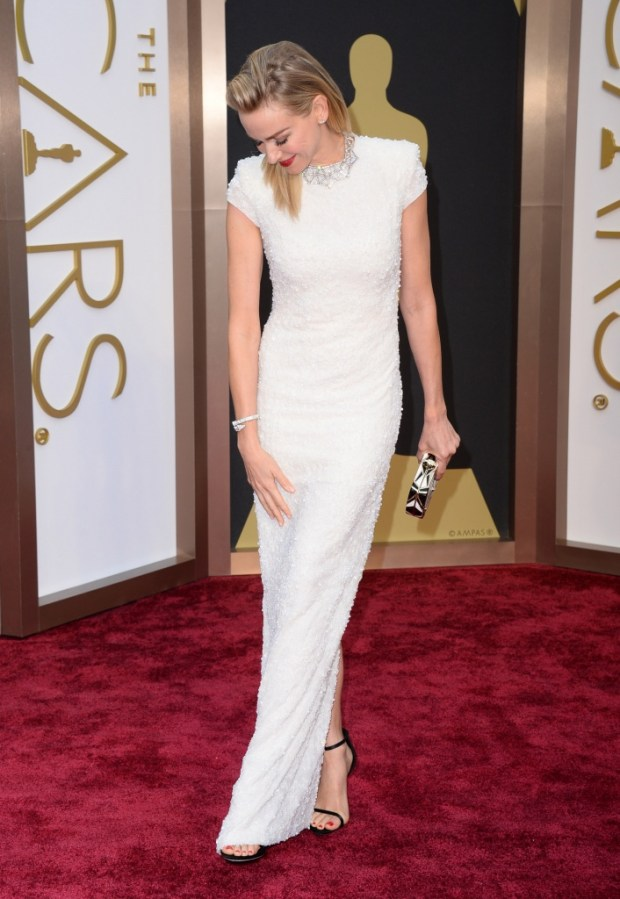 Naomi Watts in Calvin Klein dress, 2015